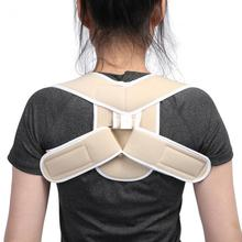 Adjustable Children Adult Posture Corrector Shoulder Back Support Brace Corset Orthopedic Posture Correction Spine Support Belt(China)