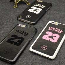 2015 Newest NBA fashion brand Michael Jordan 23 Bulls PC hard mirror cases Phone Cases For iphone 5s 6 6 plus 7 7plus Cases