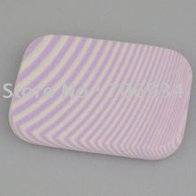 Soft Make Up Sponge Face Powder Puff Facial Face Sponge Makeup Cosmetic Powder Puff Purple 60*44*8mm