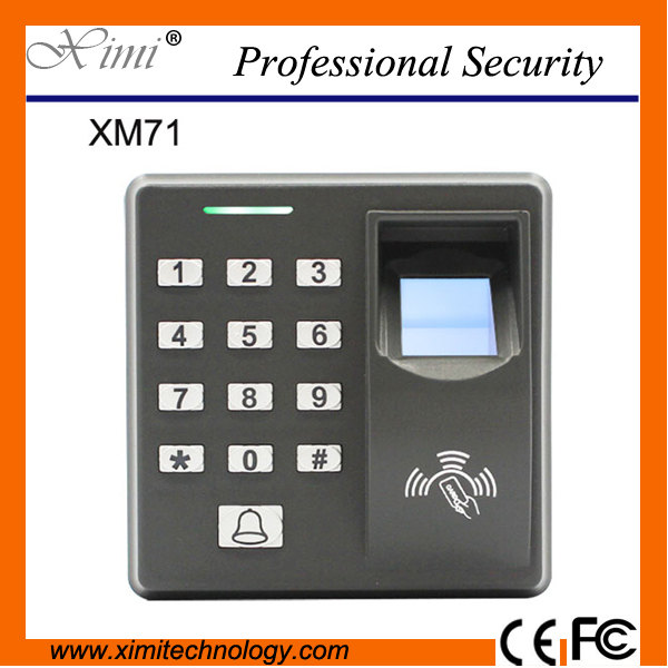 Free Shipping Xm71 Standalone Access Control No Software Fingerprint And Rfid Card Access Control<br>