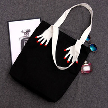 2017 Wholesale Ladies Reusable Women Canvas Shopping Shoulder Cotton Folding Tote Bags Environmental Fabric ECO Trolley Handbag