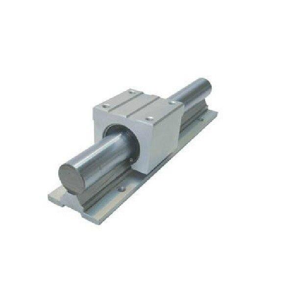 1X SBR16-180mm FULLY SUPPORTED LINEAR 16MM RAIL SHAFT + 1 pcs SBR16UU<br>