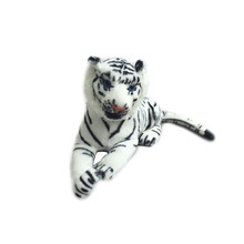 30cm White Small Cute Artificial Plush Tiger Toys Lovely Stuffed Doll Animal Pillow Children Kids Birthday Gift New Hot Selling