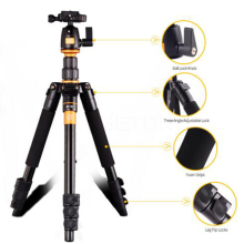 Professional Aluminum Camera Tripod Monpod Q666 Q111 Q555 Q999 360 Degree For Canon For Pentax For Sony For Olympus DSLR Camera