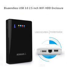 External mechanical mobile hard disk 1TB/500/320G support powerbank wireless router 2.5''sata hdd enclosure portable hard disco(China)