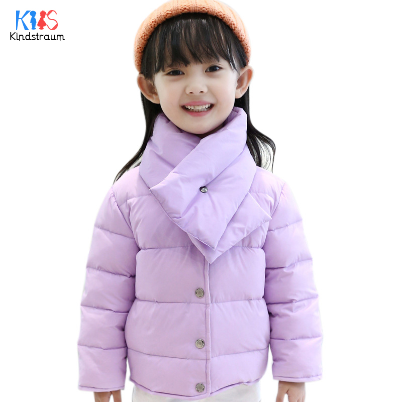 Kindstraum 2017 Winter Children Thermal Down Jacket with Bib Brand Girls Solid Thick Parkas Casual O-Neck Clothes for Kids,RC797Одежда и ак�е��уары<br><br><br>Aliexpress