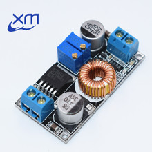 1pcs 5A DC to DC CC CV Lithium Battery Step down Charging Board Led Power Converter Charger Step Down Module original (hei)