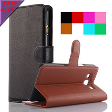 Case For Samsung Galaxy On 5 On5 Pro G550 G5500 Lichee Pattern Wallet Flip Leather Cover Smart Phone Bags For Samsung On5 Cases