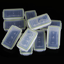 Home Storage Box 18650 16430 Battery Holder Case Waterproof Protect Hard Plastic Storage Box 10 Pcs BS(China)