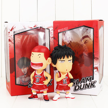 Slam Dunk Hanamichi Sakuragi & Rukawa Kaede PVC Action Figure Collectible Model Toy