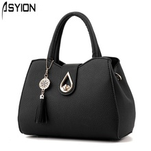 Woman Handbags South Korea Trend Leather Messenger Bags Luxury Handbags Women Bags Designer Fashion Pendant Shell Bag HP330Z