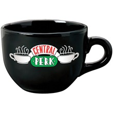 New Black 650ML Friends TV Show Series Central Perk Coffee Time Ceramic Coffee Tea Cup Mug(China)