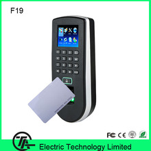 Biometric fingerprint access control F19 fingerprint + keyboard +125KHZ RFID card access control system