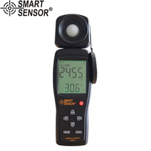 AS813 High Precision digital Lux Meter light meter Luminance tester Photometer range: 1-200,000Lux Measurement tool