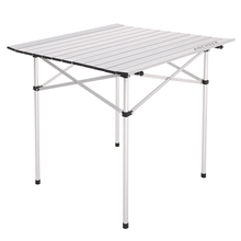 69.5 x 68cm size Aluminum alloy structure Folding table for outdoor dinner Picnic party Garden Yard Furniture