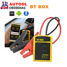 AUTOOL BT BOX  BTBOX Car Diagnostic Tool Battery Tester Support Android/ISO Powerful Function Automotive Battery Analyzer