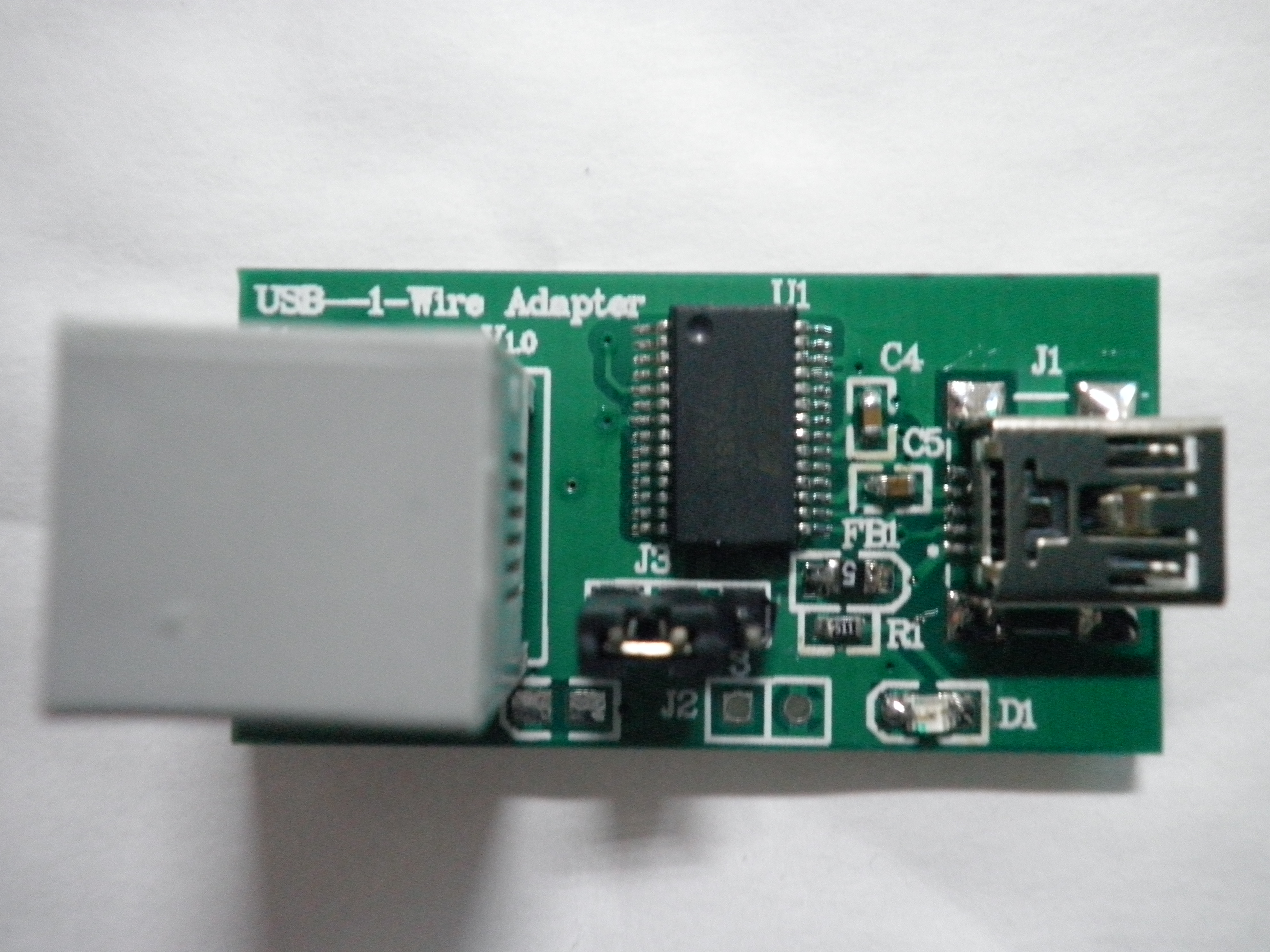 DALLAS 1-Wire single bus device reader / Programmer (DS9097/DS9490)<br>