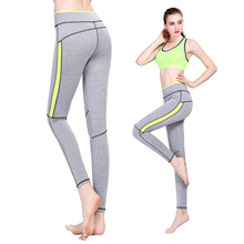 Hot Women Running Tight Fitness Yoga Pants Mosaic Elastic Wearing Leggings-K624