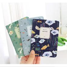 Cute Mini Vintage Flower Notebooks Journal Animal Notepads Diary Book For Kids Stationery School Supplies Free Shipping 2347