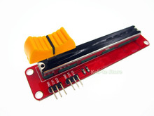 1PCS/LOT Block 10K Sliding Slider Potentiometer Module For MCU For ARM For Other Single Chip Micro Wholesale(China)