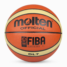 Wholesale or retail NEW Brand Cheap Molten GL7 Basketball Ball PU Materia Official Size7 Basketball Free With Net Bag+ Needle