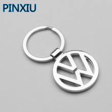 PINXIU New Metal 3D Car Logo Keychain Key Chain Key Rings Chaveiro Llavero for Car Fashion Auto Car Accessories Bag Pendant