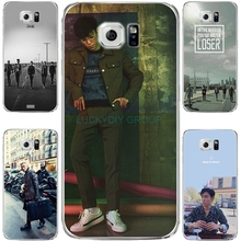 For SamsungS6 S7edge NOTE5 J7 Phone Case of G-Dragon Bigbang TOP transparent Silicone soft slim Tpu Cell Phone Cover