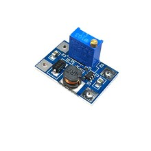 Smart Electronics 2-24V to 2-28V 2A DC-DC SX1308 Step-UP Adjustable Power Module Step Up Boost Converter