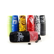 12pcs/set Competition for Flying Cup Game Rapid Speed Stacks Cups With Net Bag For Kids Toys