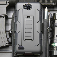For LG Xpower 2 Shockproof Heavy Duty Hybrid Rugged Case Belt Clip Holster Shell Cover For LG X Power 2/LV7/K10 Power/X Charge }