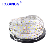 Foxanon LED Strip light 5050 DC12V 5M 300led Flexible RGB Bar Light Super Brightness Non-waterproof Indoor Home Decoration(China)