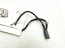 Brand New's 500pcs/pack Black Hang Tag String For Garment,Stringing Price Hang Tag Or Seal Tag