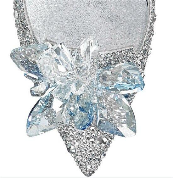 Fashion Cinderella Crystal Shoes Woman Stiletto High Heels Women Pumps Rhinestone Women Wedding Shoes Slipper Zapatos Mujer (6)