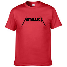 Buy Metallica hard metal rock band Men's T-Shirt T Shirt Men Short Sleeve Cotton Casual Top Tee Camisetas Masculina #199 for $5.52 in AliExpress store