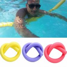 1Pc Popular Swimming Swim Pool Noodle Water Float Aid Noodles Foam Float for Children Over 5 Years Old and Adult Random Color(China)