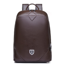 Italy Brand High Quality Genuine Leather Men Fashion Backpack Male Vintage School Bag Male Backpack for Teenagers