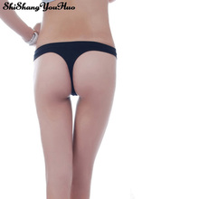 6 Colors New Cotton Women's One Piece Seamless Thong Sexy Underwear Ladies G-String Briefs Bragas Mujer Calcinha Feminina(China)
