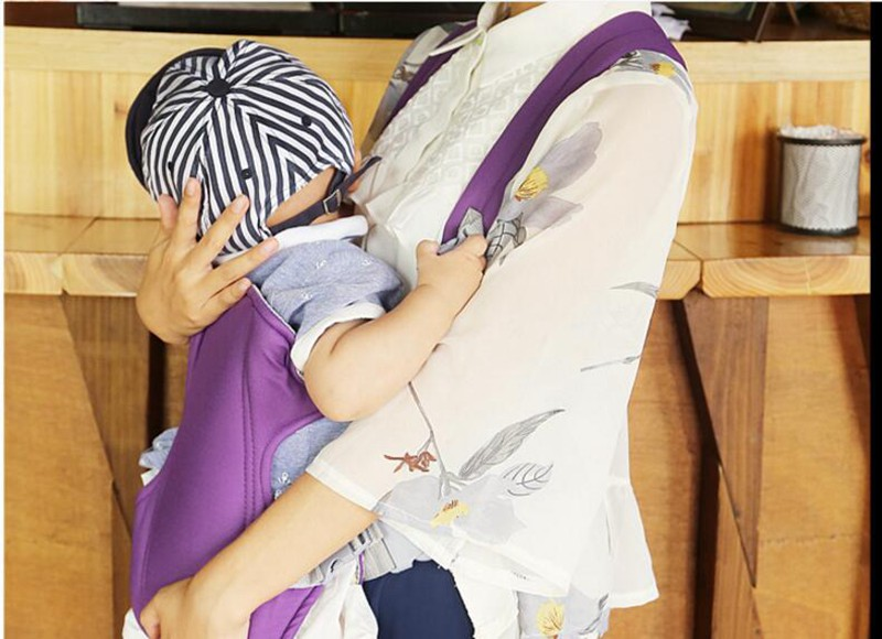 MOTOHOOD Baby Kangaroo Backpack Ergonomic Baby Carrier Wrap Breathable Sling baby Tragetuch Adjustable Comfort Infant Hipseat (12)