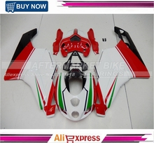 749 999 2005 2006 Tri-color Motorcycle Fairing Kit For Ducati Bodywork Replacement