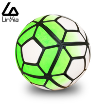 Hot sale 2017 Standard Seamless Soccer Ball Football Anti-slip Granules Ball Size 5 Football Balls High Quality For Match
