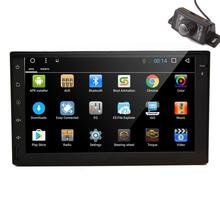 Car Stereo Multimeadia Player Android 6.0 2 Din Car Naviagtor Built-in GPS Map Data Support Screen Mirroring WIFI 3G/4G Dongle