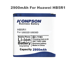 LOSONCOER 2900mAh HB5R1 Battery Use for Huawei Ascend G500D G600 P1 LTE 201HW Panama U8520 U8832 U8832D U8836D U8950 U8950D