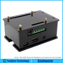 Protective-Box Acrylic-Case HIFI Raspberry Pi Expansion-Board 3-Model for Amplifier And