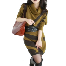 2017 Autumn Sexy Winter Women Sweater Dress Long Bat Sleeve Slim Wool Dres Plus Size with Belt ladies cashmere knitwear