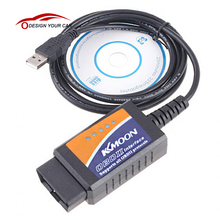 Kkmoon V1.5 ELM327 OBD2 CAN-BUS Diagnostic-Tool Interface Scanner Universal OBD OBD 2 for Toyota VW Opel Lada Honda Citron(China)
