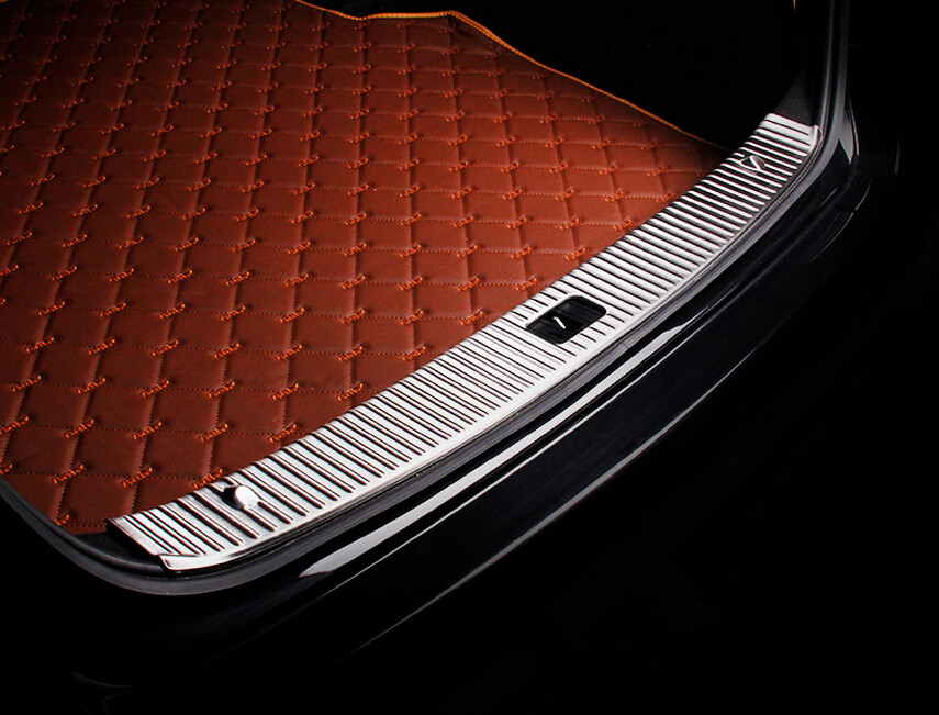 Stainless Steel Rear Bumper Trunk Inner Sill Plate Cover Trim For Mercedes Benz Mercedes Benz W212 E200 E250 E300 E350 E400(China (Mainland))