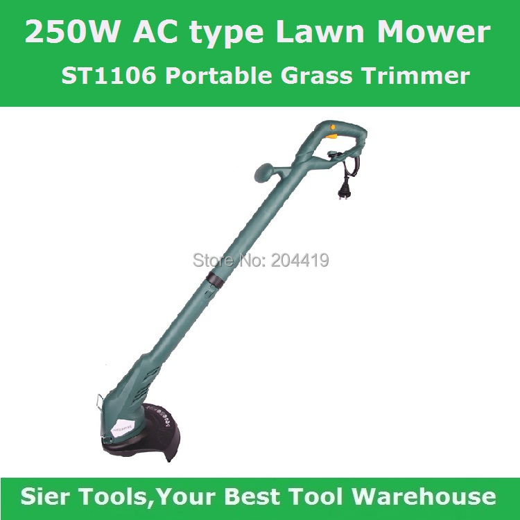 ST1106 250W Lawn Mower/Grass Trimmer/AC electrical mower/Sier Electric Lawnmower/electric grass trimmer(China (Mainland))