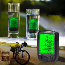 28 Function Bike Speedometer Waterproof Digital Backlight Bicycle Computer Odometer Clock Stopwatch Computer Bicycle Accessories