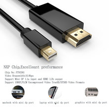 3M Mini Display Port DP to HDMI TV HDTV Cable Cord Audio Video Cables for MacBook Pro for iMac Portable