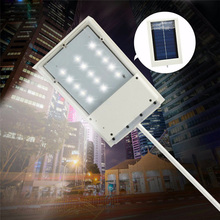 LED lamp Sensor solar Powered Panel 15 LED Street Light Outdoor Garden Path Spot Wall Emergency Lamp luminaria WY